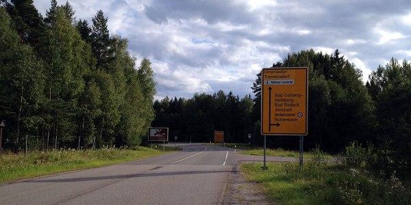 Nochmal ehemalige innerdeutsche Grenze, Schnappschuss mit dem iPhone, …