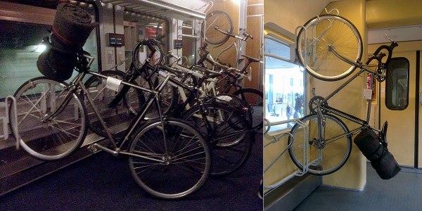 Entspannter Rücktransport als Fahrrad.